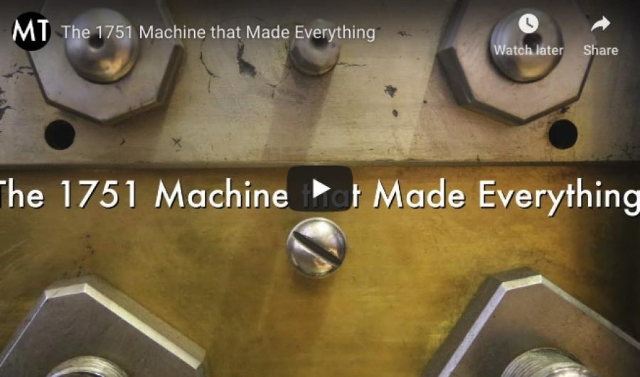 The Machine that Made Everything!