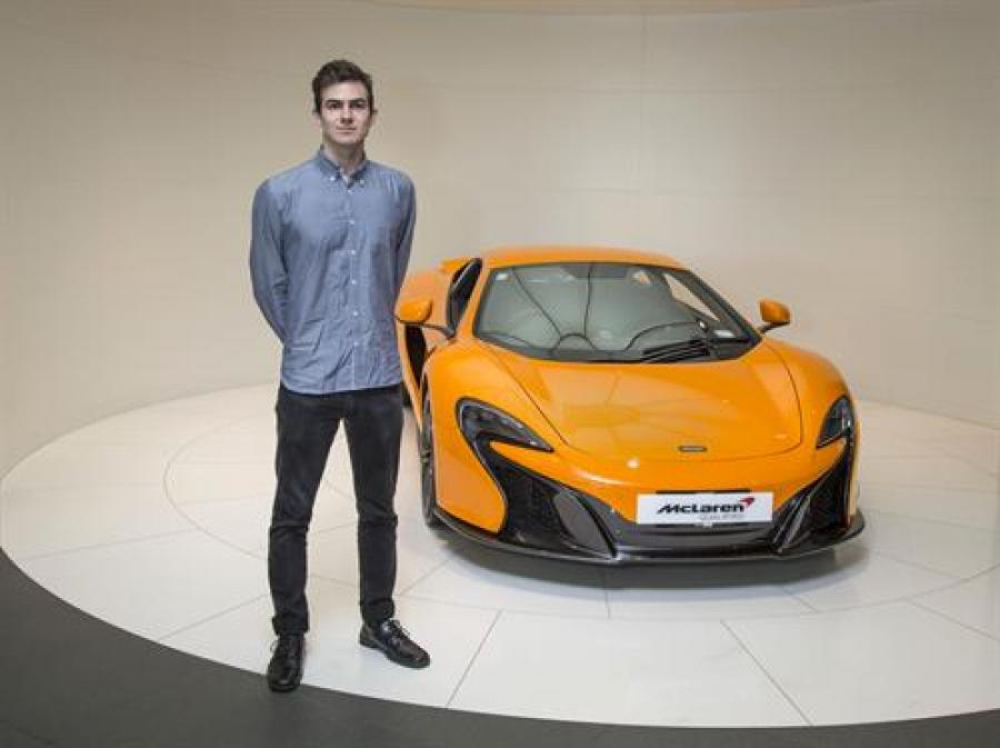 McLaren awards internship to namesake Kiwi