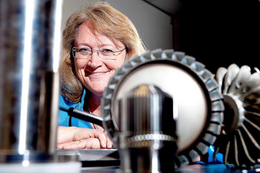 Professor Susan Krumdieck is developing a revolutionary machine that lets you make an anti-microbial ceramic coating on metal.