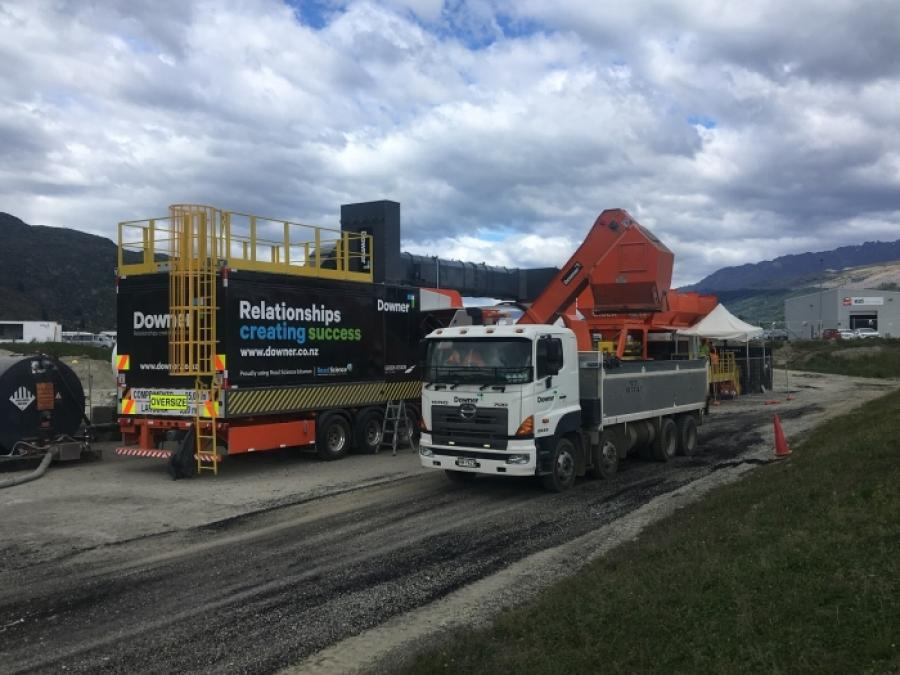 'Ground-breaking' asphalt used for Queenstown Airport resealing project