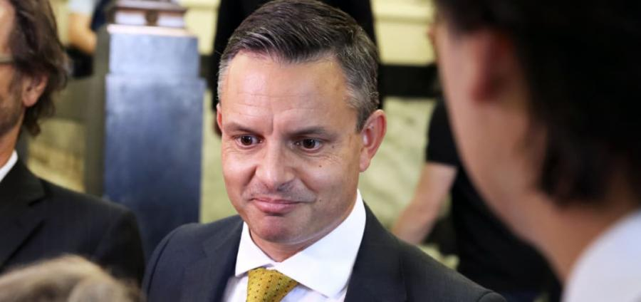 Climate Change Minister James Shaw.