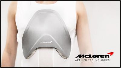 McLaren develops composite body armour for healthcare
