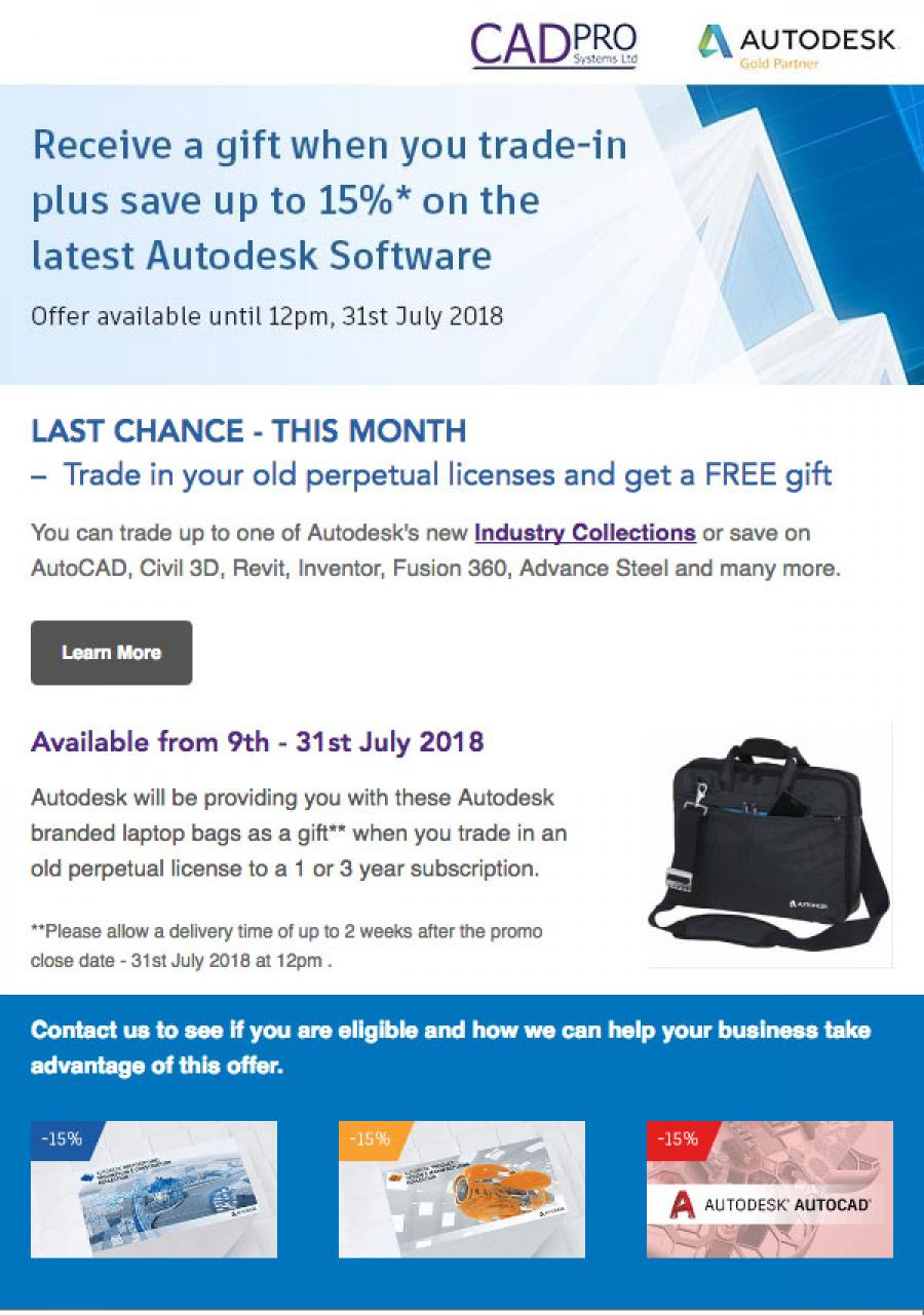Autodesk Discount with CADPRO