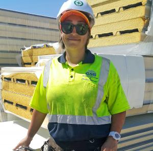 Tradie's perseverance pays off