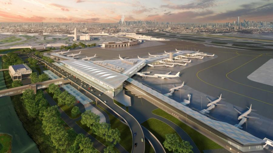 Airport Upgrades:  Newark Airport