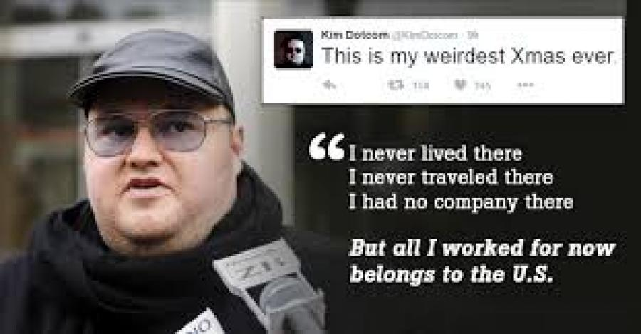 Kim Dotcom Piracy Extradition Alliances Shattered in Hollywood-White House Split