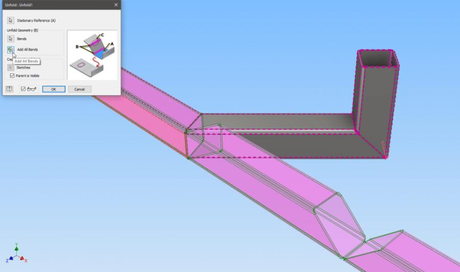 """Notch, bend, and straighten in Inventor with CADPRO""""S Peter Crawley"""