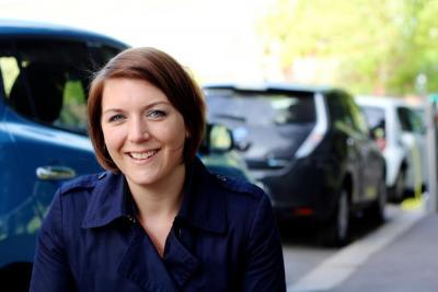 Pictured: Norwegian EV Association secretary general Christina Bu.