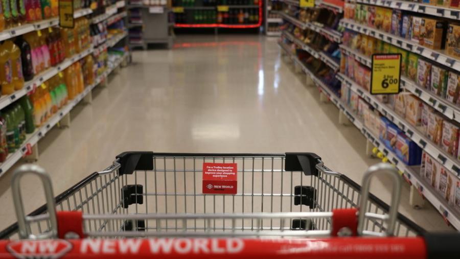 Wellington supermarket trials GPS trolley tracking
