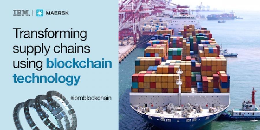 Maersk, IBM partner to build blockchain tech