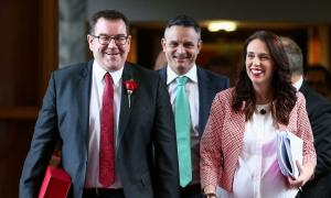 Budget Priority was to Keep Coalition Intact by Payoffs to Partners