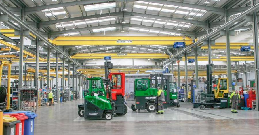 Inside Ireland's Lean, Green Forklift Plant