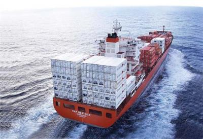 First sea-freight shipment of chilled red meat into China