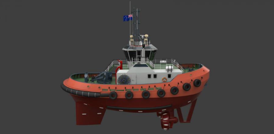 Port Taranaki signs contract for new tug