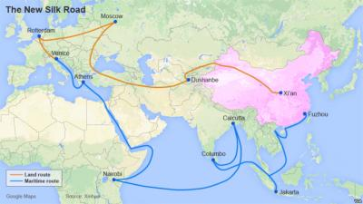 The New Silk Road - China's Trillion Dollar Plan