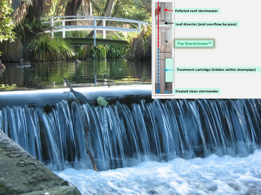 UC researchers invent Storminator™ weapon in battle for survival of healthy waterways