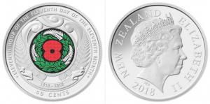 Armistice Day coin: keep me, spend me, remember me