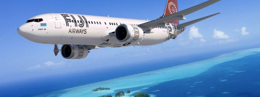 Fiji Airways Boeing 737 Max 8 2  Wellington first region in New Zealand to receive Fiji Airways' new Boeing 737 Max 8 aircraft
