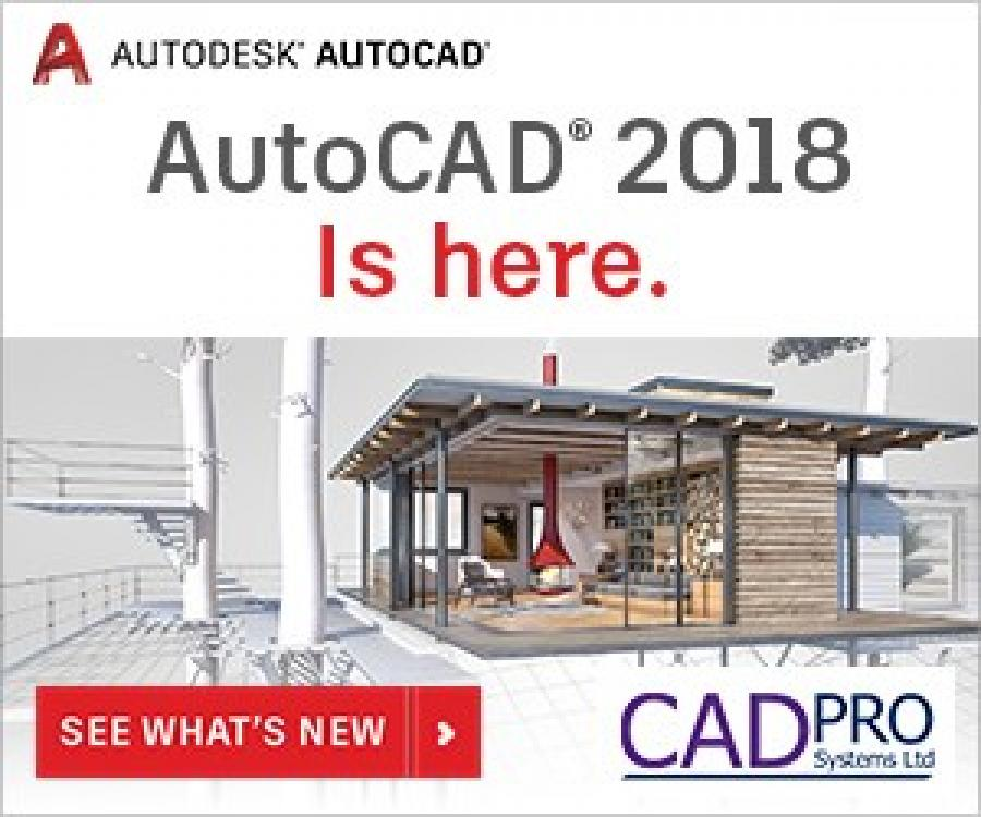 CADPRO SystemsAutoCAD & AutoCAD LT 2018 is Here!