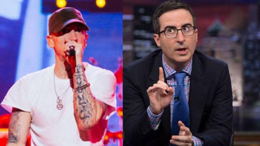 John Oliver and Eminem