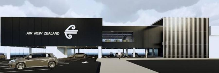 Air New Zealand Auckland Regional Lounge concept design.