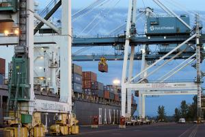 The Port of Portland has had to rely on breakbulk and roll-on, roll-off services to make up for the loss of container calls.