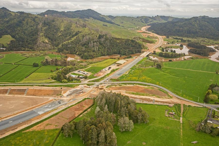 Public open day on the Huntly section of the Waikato Expressway