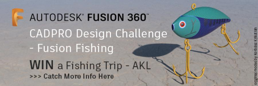 CADPRO Systems Design Challenge – Fusion Fishing