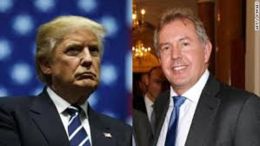 Darroch Papers Indicate Westminster convinced Wellington of Clinton Presidential Victory