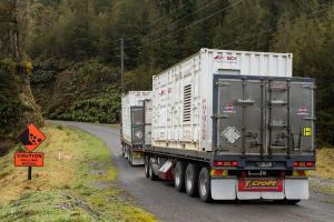Nitrogen plant arrives at Pike River Mine site