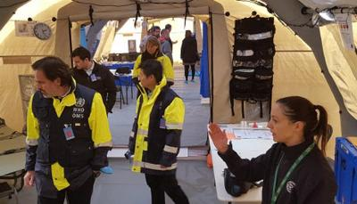 Kiwi designed tent hospital boosts NZ's disaster response