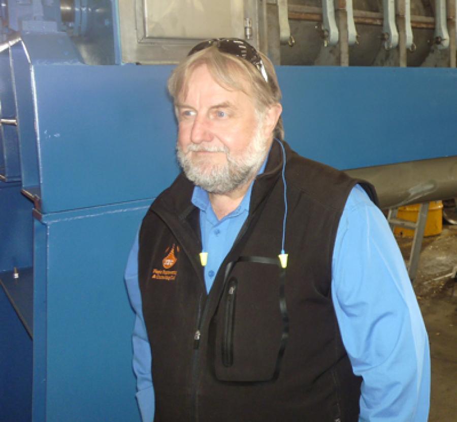 Five Questions For:- Napier Engineer Ken Evans