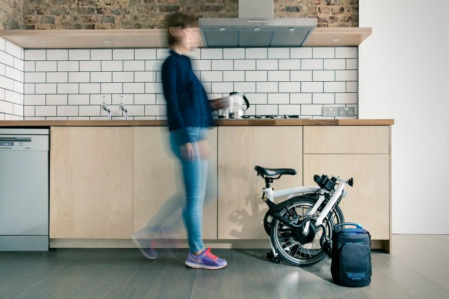 Brompton launches first battery-powered version of its folding bike