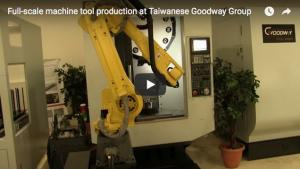 Full-Scale Machine Tool Construction at Goodway Group