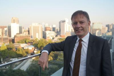 Phillip Turner, New Zealand's ambassador to South Korea, says the fascinating developments in the country are what drew him back into diplomacy. Photo: Sam Sachdeva.