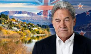 Winston Peters Wisdom over UK & Russia ---anticipates softening China market