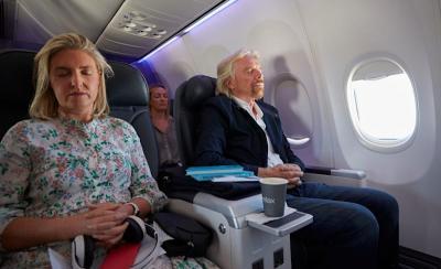 World-first meditation flight