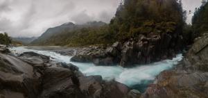 The proposed hydro-electric project could reduce the flow of the Waitaha River to a trickle.