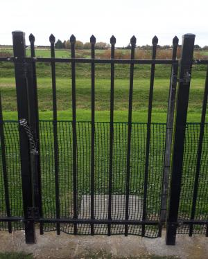 The Anderson's Back gate