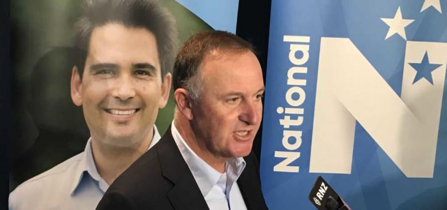 Former Prime Minister John Key says Simon Bridges should not be afraid to change National policies. Photo: Tim Murphy