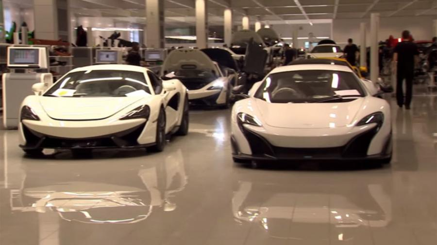 McLaren to build £50m supercar chassis factory in Sheffield