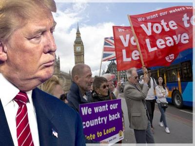 Trump-Brexit Trademarks Identical on both sides of Atlantic