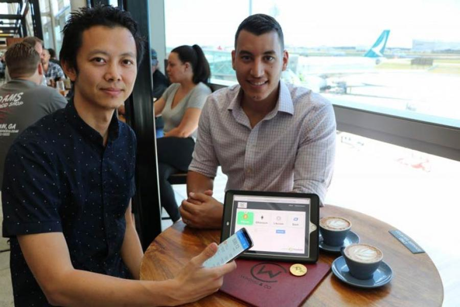 """Caleb Yeoh, CEO of TravelbyBit (left), said: """"We are building a genuine use case for cryptocurrencies in the tourism industry."""""""