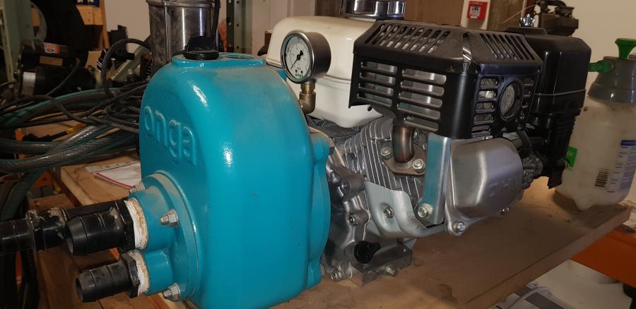 Onga pump - 4 stroke motor