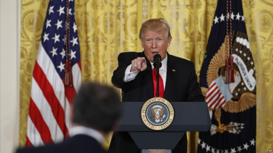 Washington-New York Press Rage against President Trump Misleads rest of world claims National Press Club