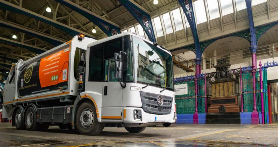 City of London Trials UK's First All-Electric Refuse Collection Vehicle