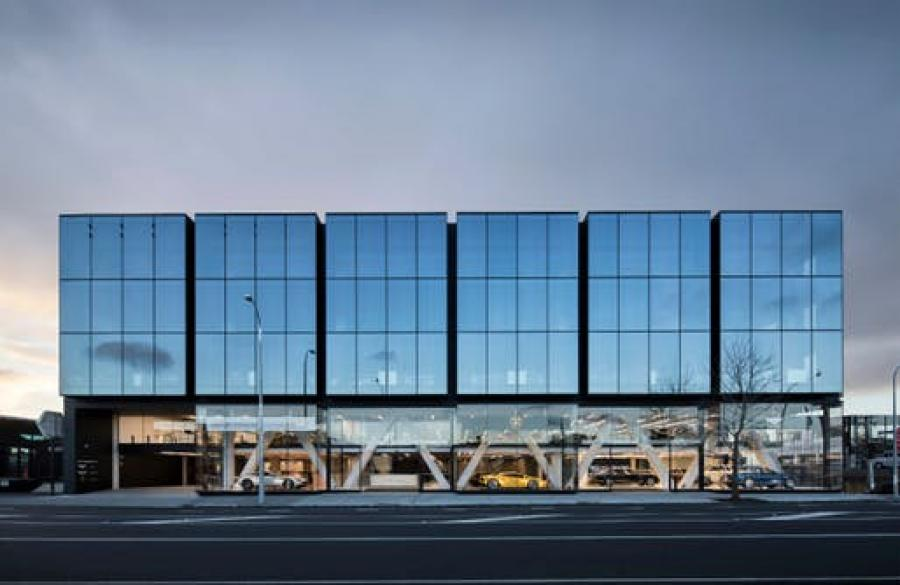 COMMERCIAL: Warren and Mahoney Architects in Auckland for 119 Great North Road. Photo: Simon Devitt.