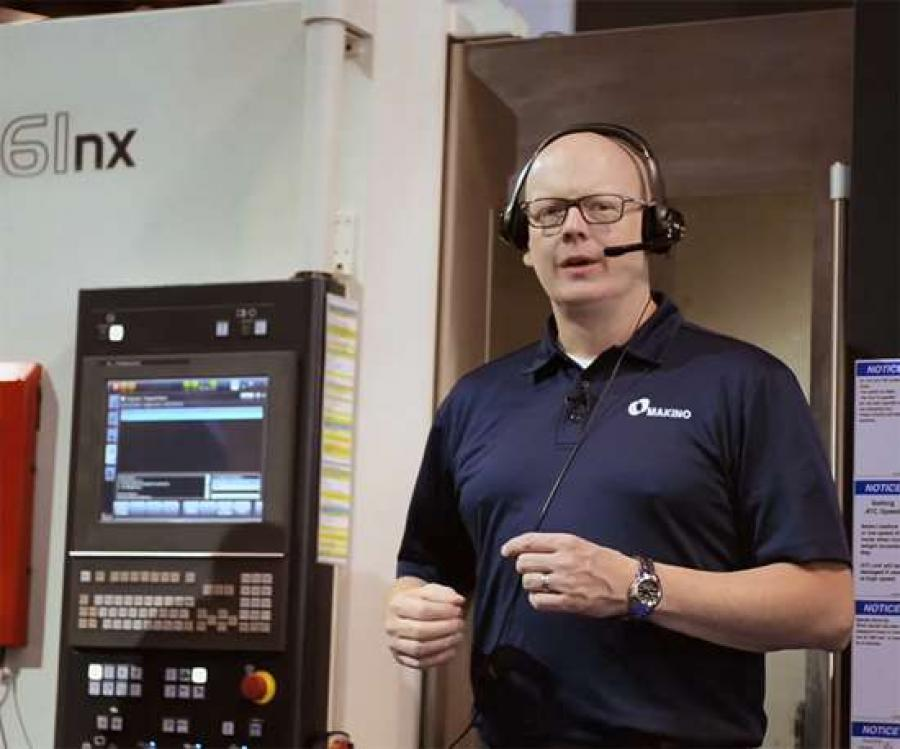 """For now, Athena is a hands-free way to execute a number of control and information display functions—one operator to one machine—with commands like, """"run part-program 208 . . . stop coolant . . . change tool to T-15,"""" and so on."""