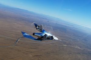 Virgin Galactic completes transonic glide test