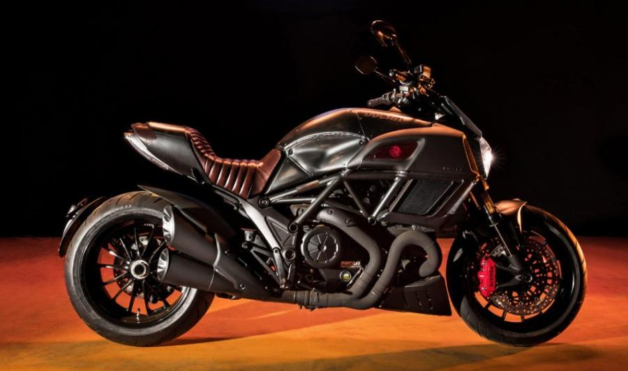 The Ducati Diavel Diesel.